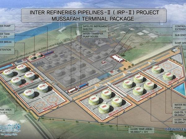 Inter Refineries Pipelines – IRP-II, Mussafah Terminal, UAE