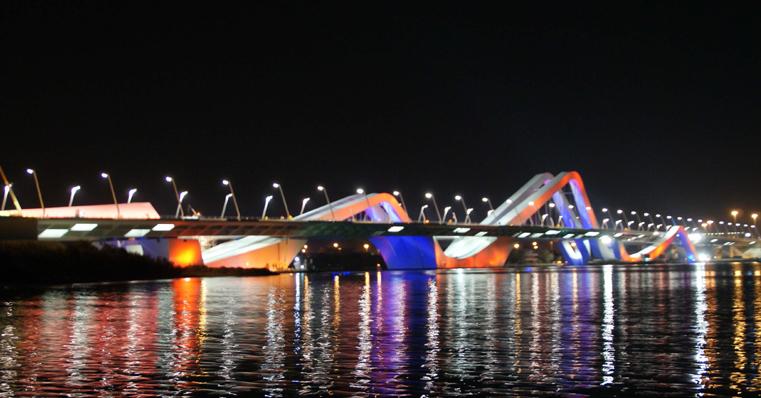Sheikh Zayed Bridge Abu Dhabi