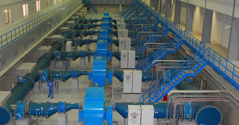 Taweelah Unit III - UAN Water Transmission Scheme