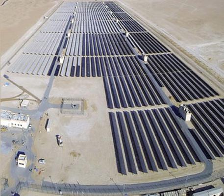 13MW Solar Power Plant at Bab Al Shams